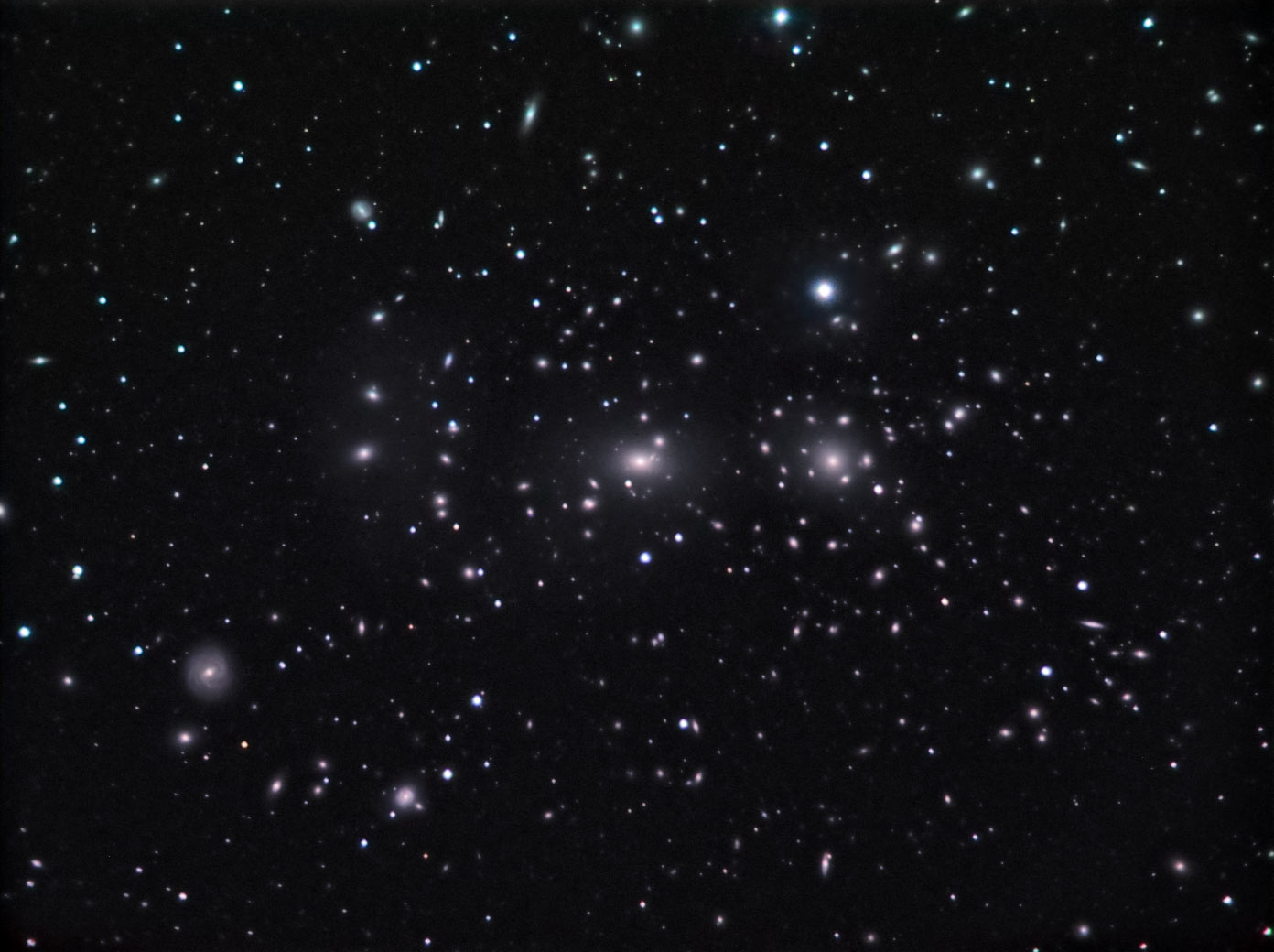 Coma Cluster of Galaxies - Pics about space