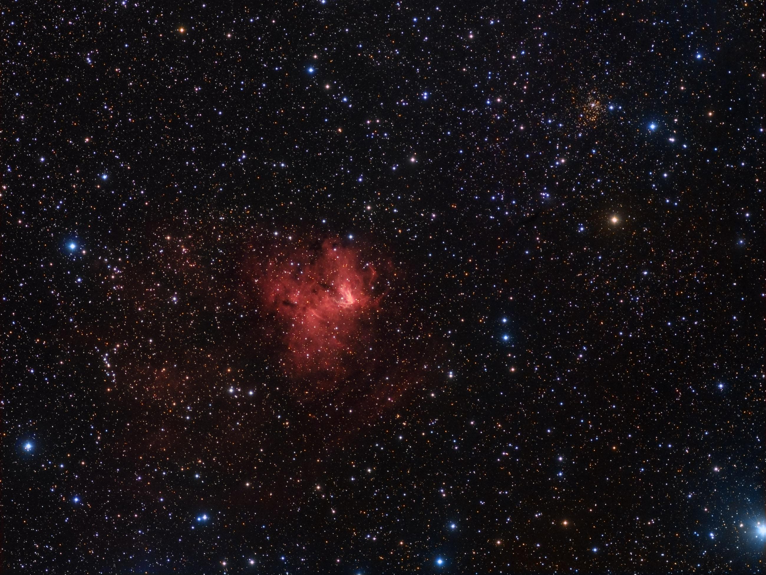 NGC 2174 Nebula wallpaper - Space wallpapers - #8092